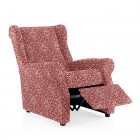 Bi Stretch Wing Chair Cover Boston