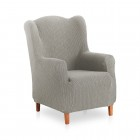 Bi Stretch Wing Chair Cover Carolina